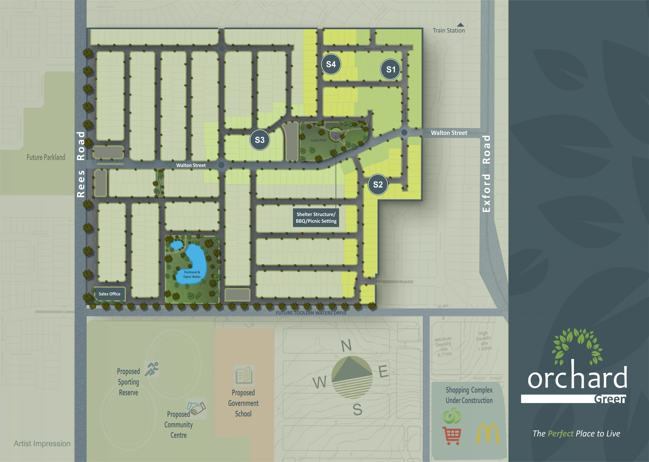 Orchard Green Master Plan